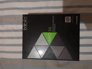 MiniX Neo X6 Quad core Media hub for sale