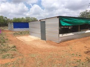 Building of Chicken Houses from start to finish