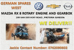 MAZDA R8 ROTARY ENGINE AND GEARBOX FOR SALE | Junk Mail