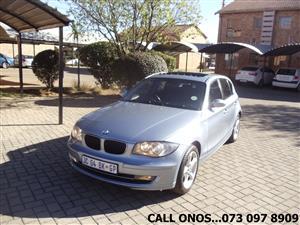 2009 BMW 1 Series 118i 5 door auto