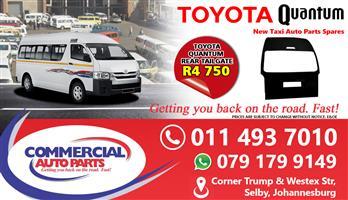 Tailgate For Toyota Quantum Sesfikile For Sale.