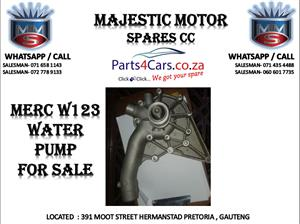 Mercedes benz w123 water pump for sale