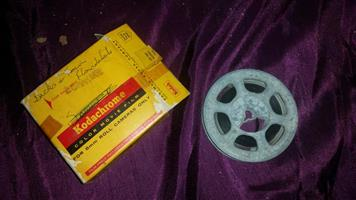 Kodachrome color movie film