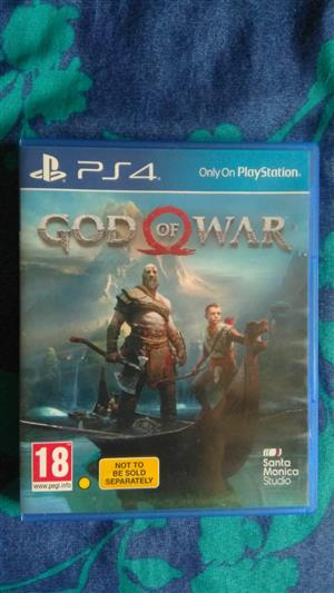 Latest god ps4 game to swop or sell