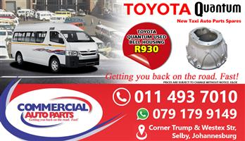 Bell Housing For Toyota Quantum Sesfikile For Sale.