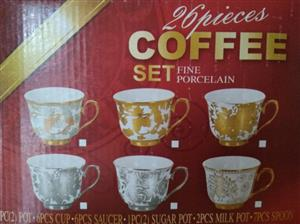 Elegant coffee cup set for sale