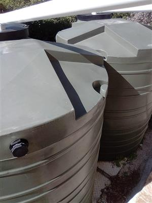 5000litres jojo water tank