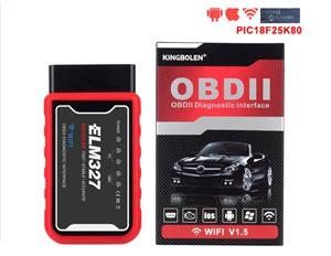 New ELM327 WiFi V1.5 OBD2 OBDII Car Diagnostic Tool