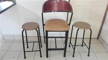 High Bar Chairs For