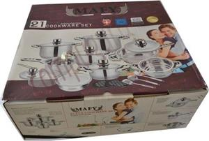 21pc Mafy Cookware set