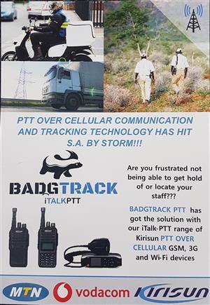 Radio Tracking Devices PTT (Badgtrack iTalk 200)