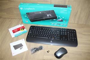 Logitech mk520 wireless keyboard and mouse