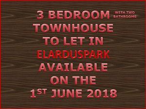 ELARDUSPARK TOWNHOUSE TO LET