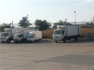 Refrigerated Transport and 8 ton Truck Rental Service, 1 Ton Freezer Bakkie Hire and Frozen Courier