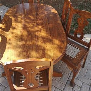 selling a dining room set
