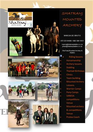 Join us at ShaTranj Stables