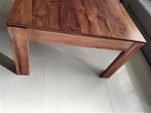 satinwood side tables x2
