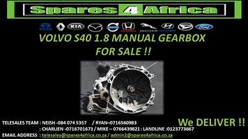 VOLVO S40 1.8 MANUAL GEARBOX FOR SALE