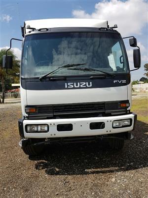 2006 Isuzu FVZ1400 (14TON) Tautliner / Curtain side truck for sale