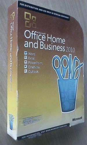 Microsoft Office Home and Business 2010. Product key inside., used for sale  Roodepoort