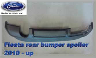Fiesta rear bumper spoiler 2010 - up (part no.000)