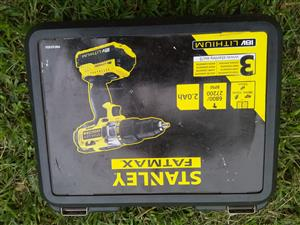 18v Stanley Drill, to Swop for canvas Dome Tent..2.1 or 2.4 meters