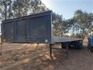 3 Axle Flat Deck for Sale