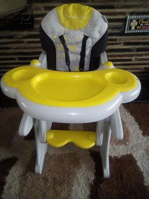 Mama love 2 in 1 feeding chair