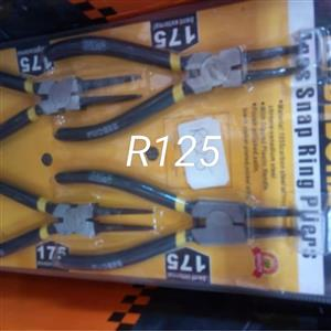 Snap ring pliers set for sale