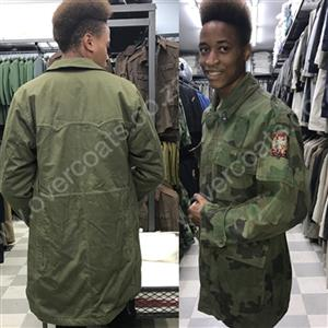 Ex NATO Military Overcoats and Jackets for sale.
