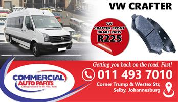 VW CRAFTER BRAKE FRONT PADS