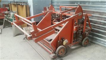 Lohl brick making machine