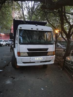 FAW 26-240 10 cub tipper truck