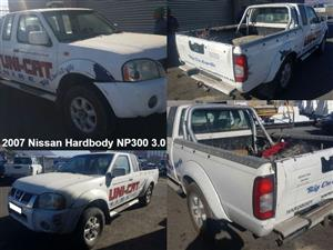 Nissan Hardbody NP300 3.0 2007 stripping for spares.
