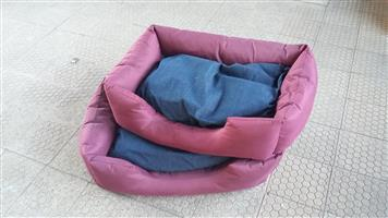 Two small dog beds new for sale