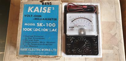 Kaise Volt- Ohm Milliameter Model SK-100