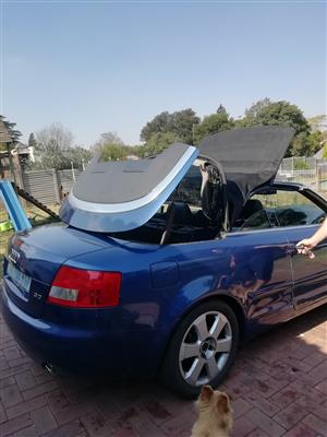 2003 Audi A4 3.0 cabriolet