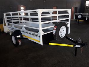 3M SINGLE AXLE TRAILER FOR SALE. BRAND NEW, PAPERS INCL