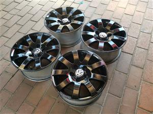 VW 15 inch rims Fits tyre sizes as follow 205/15 & 195/15 Price is R2499