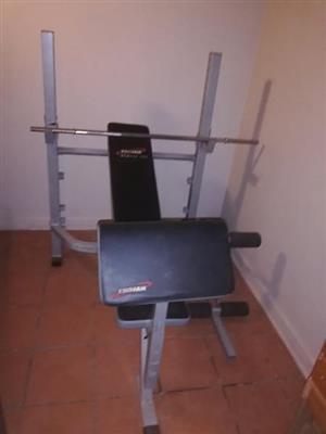 Trojan bench press