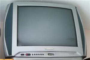 Ek het 2 tv's om te verkoop