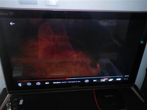 Tv 32'' met open view pvr decoder en pvr stokkie met remote en skottel by