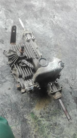 ride on mower transmission