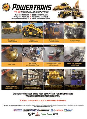 Bell Equipment Parts