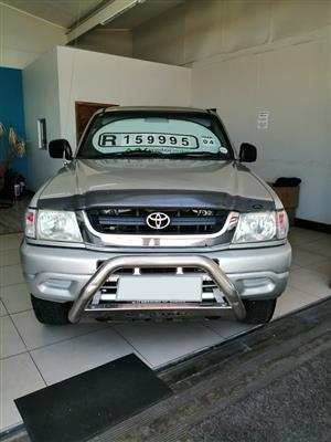 2004 Toyota Hilux 3.0D 4D double cab Raider
