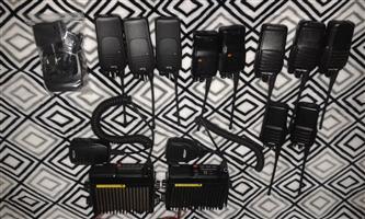 VHF 2 Way Radios and Home bases