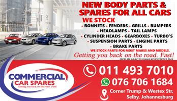 New Body Parts And Spares For Sale At Car Spares