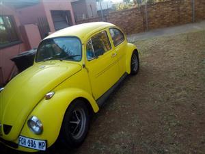 1973 VW Beetle to swop for Bike