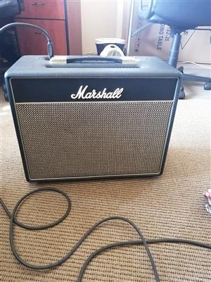 Marshall class 5 guitar amp