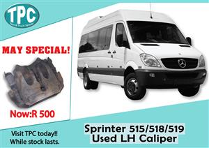 Mercedes Benz Sprinter 515/518/519 Used LH Caliper for Sale at TPC